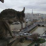 vista a partir das torres de Notre-Dame