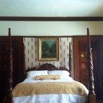 Bedroom in the Dwyer Suite