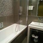 Bathroom in room 105