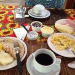 Desayuno en Pousada Le Refuge