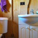 baño de la habitación privada