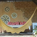 hamac et céramiques maison