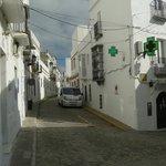 Een van de vele Moorse straatjes.