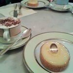 Cappuccino und Zitronentarte - unfassbar lecker!!