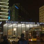 Potsdamerplatz in notturna