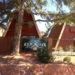 Entrance to The Red Agave Resort