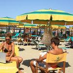 wi-fi in spiaggia