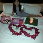 She said 'YES' in surprisingly! Credit thanks to Dino, Rika and the W Insider Team!