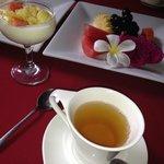 Petit déjeuner à volonté le matin :)