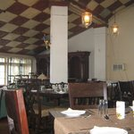 The historic dining hall