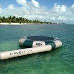 Ocean trampoline