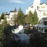 Vista de Bariloche desde el Hotel
