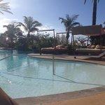 Pool side - February and warm!