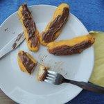 Banana fritters/Nutella