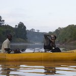 Enjoy canoeing down the Bua river with one of our trained guides