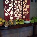 Fruit in breakfast area