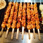 The best kebabs in the city cooked on charcoal grill
