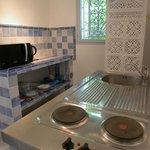Kitchenette Chambre Cristal
