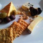 Cheese Dessert Plate