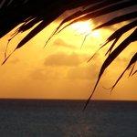 un coucher de soleil mémorable...