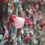 The nasty gum wall.