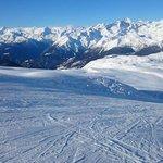 Empty slopes in Madonna di Campiglio