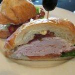 Turkey Club Croissant