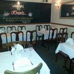 Inside in restaurant