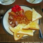 English style breakfast if you prefer
