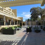 patio of hotel