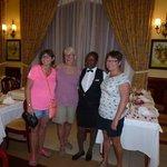 Momma , our waitress/ friend