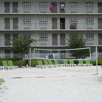 quadra de voley de praia