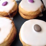 Fresh made empire biscuits ....