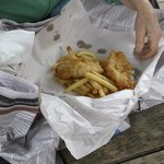 Blue cod and chips!