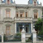 Parte de la fachada exterior del Palacio