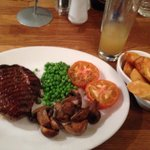 Main Scottish 10oz rump steak