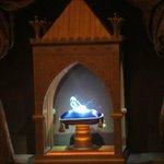Cinderella's glass slipper at Princess Fairytale Hall