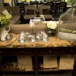 Card & Cookie Favour Table - O Bistro Wedding