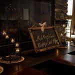 Fireplace Decor - O Bistro Wedding