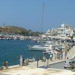 Naxos City bay