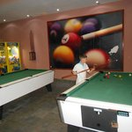 pool and table tennis area