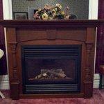 Gas Fireplace in King Suite (2 Bedroom/2 Bathroom Suite)