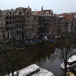 View from room over Singel