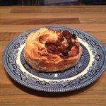 Chef Ron's famous cinnamon scone! Mmmmmm