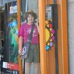 phone booth at Banco/PumaPungo