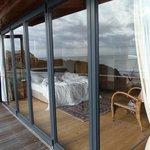 slaapkamer vanaf balkon