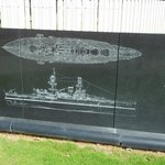 The USS Oklahoma...!