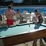Poolside pool!