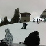 At the top of Chair 11