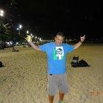 Playa Camboriú de noche